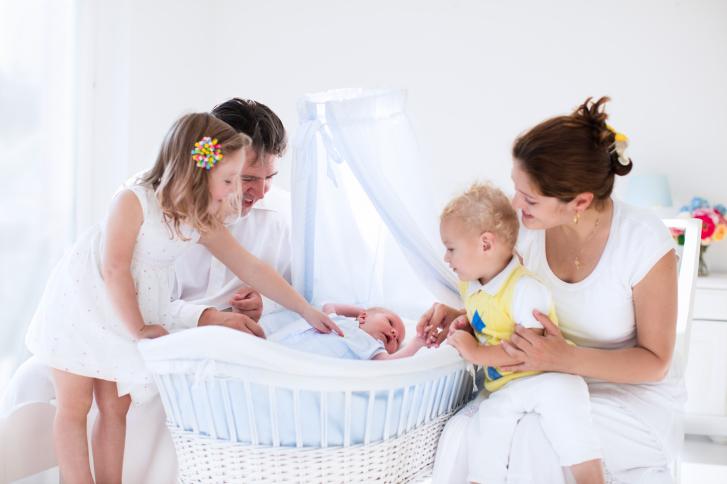 La inscripción del bebé en el Libro de Familia