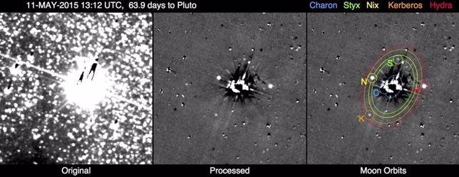 Imágenes de Plutón