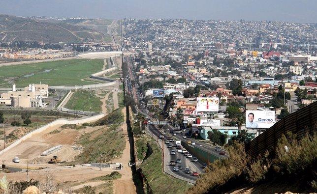 Frontera de Estados Unidos con México, Tijuana
