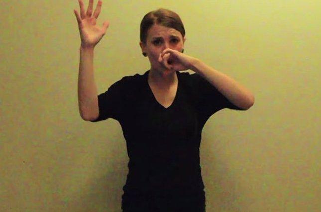 Eminem en lenguaje de signos