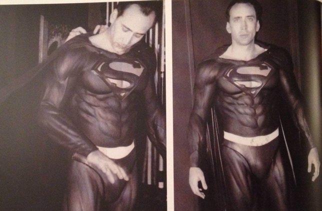 Nicolas Cage como Superman