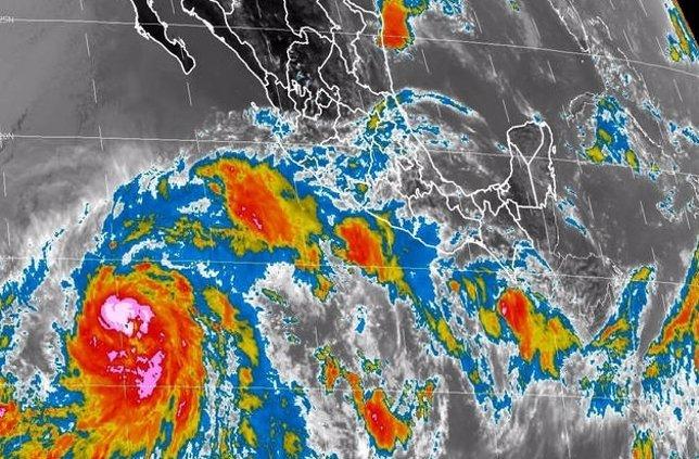 Huracán en México