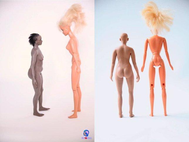 MyIDolls madre sueca crea la anti-Barbie con celulitis y kilos de más