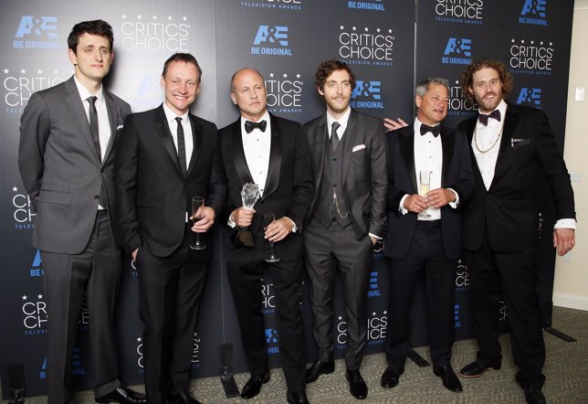 Reparto de Silicon Valley, mejor comedia en los Critics' Choice TV Awards