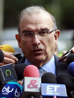 El jefe negociador del Gobierno de Colombia, Humberto de la Calle.