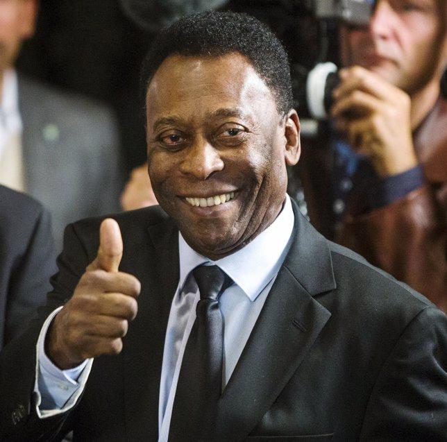 El exfutbolista brasileño Pelé