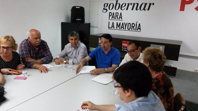 Reunión de la Comisión Ejecutiva Provincial del PSOE de Salamanca