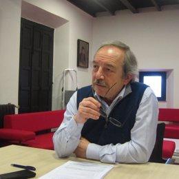 Wenceslao López, candidato del PSOE a la Alcaldía de Oviedo