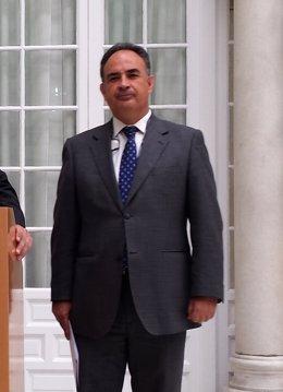 Manuel Romero, presidente de la CHG.