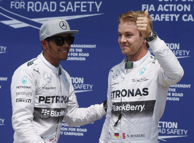 Nico Rosberg le arrebata la 'pole' a Hamilton y Alonso saldrá séptimo