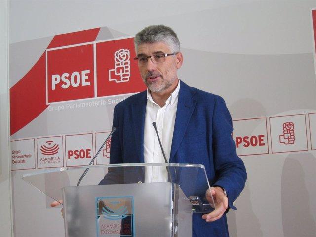 Portavoz del PSOE en la Asamblea, Valentín García