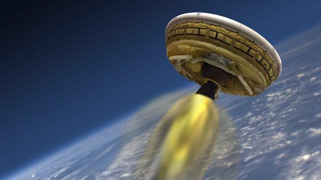 Platillo volador de la NASA