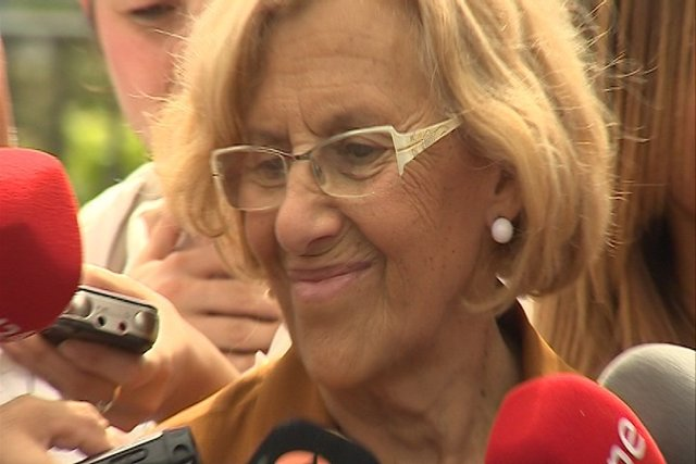 Manuela Carmena ya se ve como alcaldesa