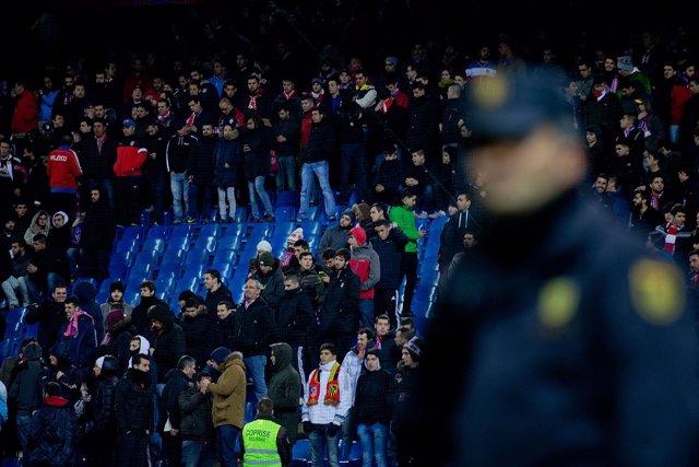 El Vicente Calderón sin el Frente Atlético