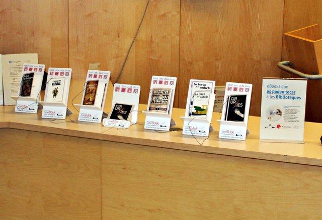 Algunas muestras de los ebooks que se pueden encontrar en las bibliotecas