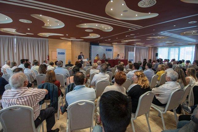 Reunión de la Junta Directiva Provincial del PP Huesca