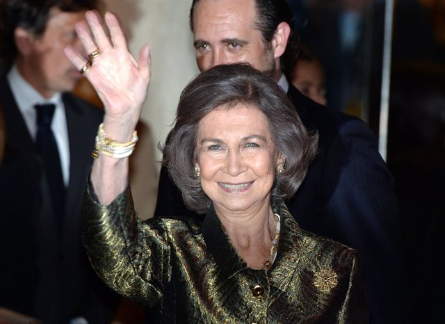 La Reina Sofía en Mallorca