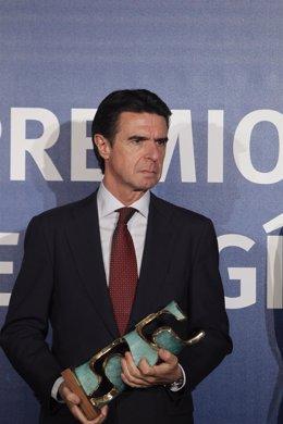 José Manuel Soria en la entrega de los XXVI Premios de la Energía