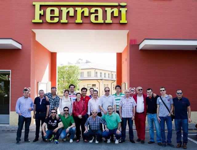 Empleados de Millarto en Ferrari