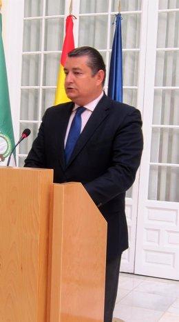 Delegado del Gobierno en Andalucía, Antonio Sanz.