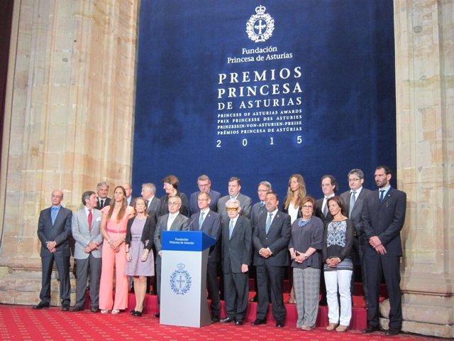 Jurado Premio Princesa de Asturias de los Deportes 2015.