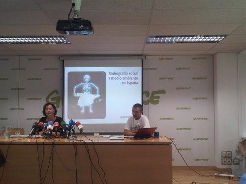 Radiografía ambiental en España. Greenpeace