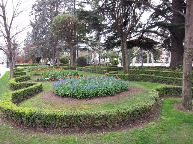 Imagen de zonas verdes en  El Espolón