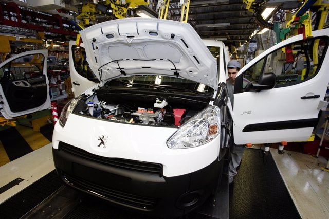 Fabricación de Peugeot Partner.