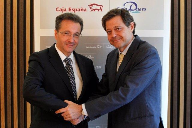 Firma del convenio entre Ceiss y Avalmadrid
