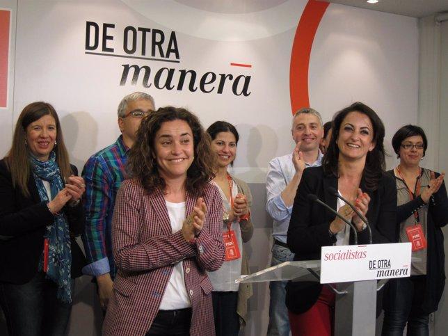 Andreu y Arráiz aplauden tras conocer y valorar los resultados electorales