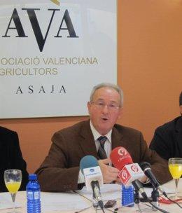 Cristóbal Aguado (AVA-Asaja), en imagen de archivo.