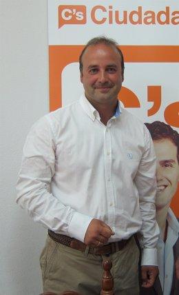 David Castaño tras la reunión de C's
