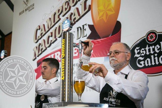 Campeonato de tiraje de cerveza