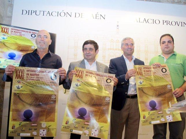 Presentación de los XXI Internacionales de Tenis de Martos.