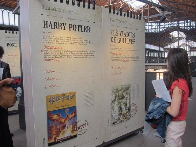 Exposición sobre libros censurados en el Born