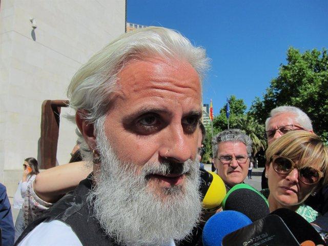Benavent atiende a los medios tras ir al juzgado