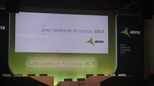 Junta General de Accionistas de Aena