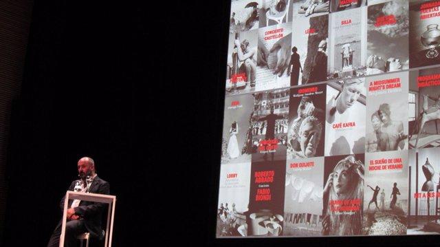 Davide Livermore en la presentación de la temporada