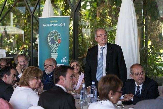 El jurado de los Premios Pimes de Pimec