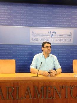 Mario Jiménez este miércoles en rueda de prensa