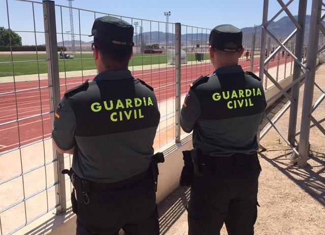 La Guardia Civil detiene a un espectador por alterar el orden público