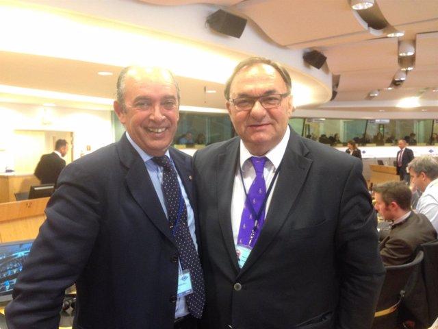 Reunión de regiones insulares en la EU