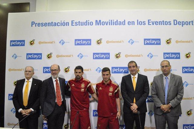Firma de FESVIAL, Continental y Pelayo presentan un estudio