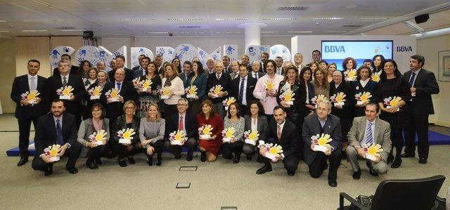 Premios 'Territorios Solidarios' de BBVA de 2014