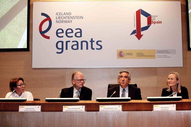 Jornada Punto Focal Nacional de los EEA Grants en España