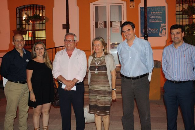 OSP, Rafael Piña, y PP, Ángeles Muñoz