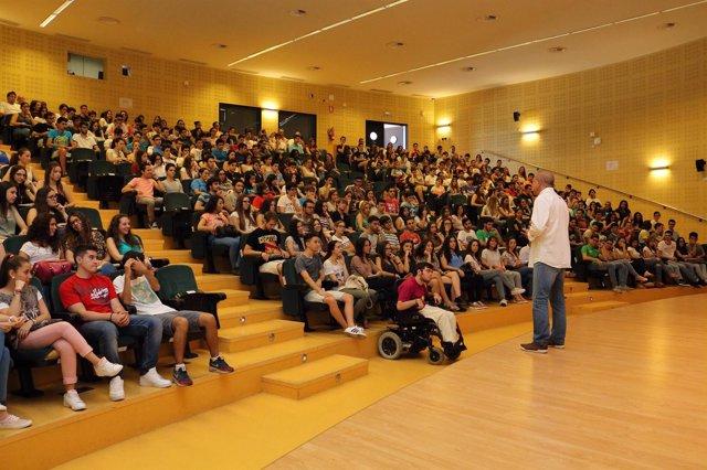 Jornadas de Selectividad en la Universidad Pablo de Olavide
