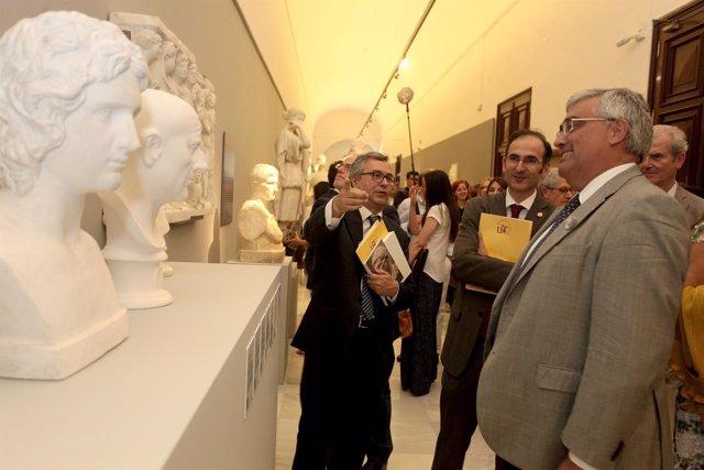 Se inaugura la muestra permanente de 'Yesos.Gipsoteca de la US'