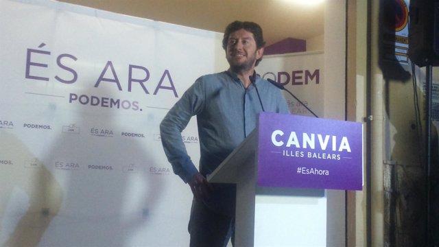 Alberto Jarabo, candidato de Podemos Baleares al Parlament