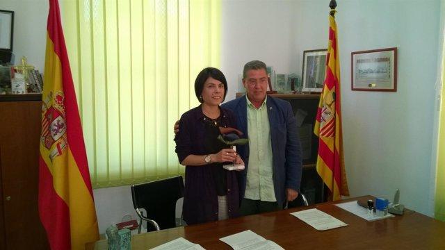 Raquel Baldellou y Carlos Jerónimo Alastuey